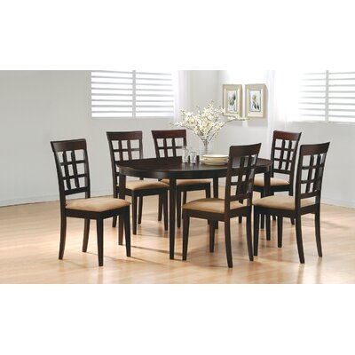 Wildon Home Crawford Dining Set (7 Pieces) - Finish: Rich Cappuccino at Sears.com