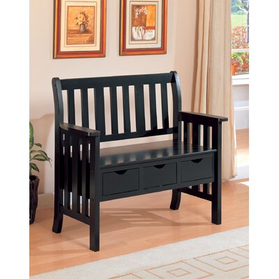 Carolina Cottage Veranda Wooden Entryway Storage Bench | Wayfair