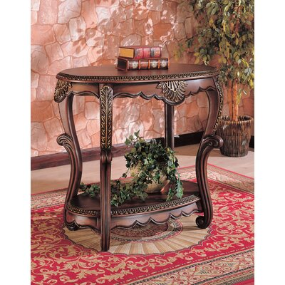 Cheap Wildon Home Chehalis Accent Table in Antique Brown (CST3706)
