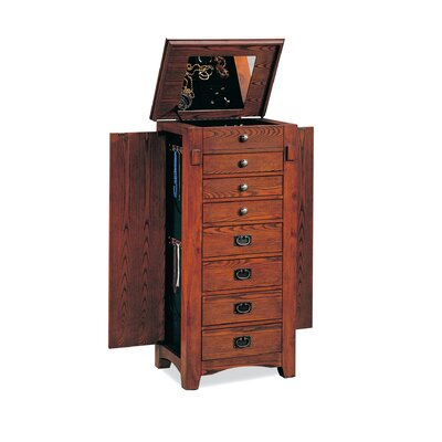 "Wildon Home West Richmond 42"" Jewelry Armoire in Oak at Sears.com"