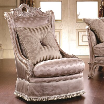 Alaskan Nailhead Wingback Chair