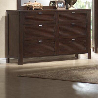 Fabrizia 6 Drawer Double Dresser