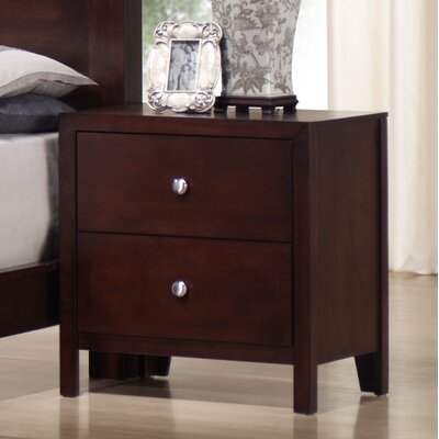 Sarah 2 Drawer Nightstand