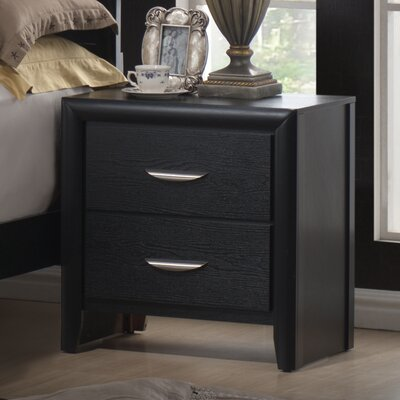 Seger 2 Drawer Nightstand