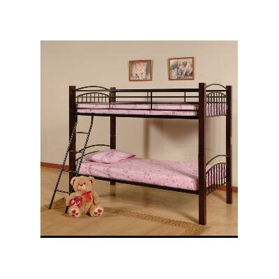 Pelzer Twin over Twin Bunk Bed