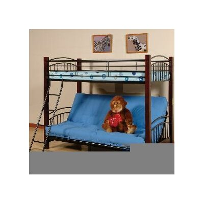 Pelzer Twin over Full Futon Bunk Bed