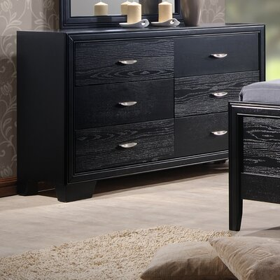 Dravo 6 Drawer Double Dresser