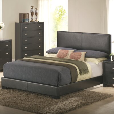 Kaspa Upholstered Panel Bed Size: Queen