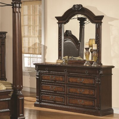 Payne 9 Drawer Dresser with Mirror
