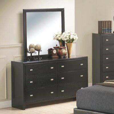 Wildon Home Kaspa 6 Drawer Dresser