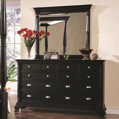 Ardnaglass 12 Drawer Dresser with Mirror