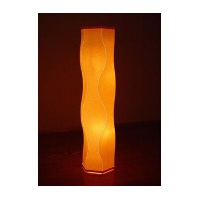 """Roland Simmons Lumalight 72 Model Table or Floor Lamp - Color: Old Gold, Size: Floor (90"""" H x 14"""" Dia.) at Sears.com"""