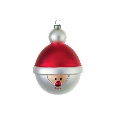 Babbonatale Christmas Santa Ornament (Set of 4)