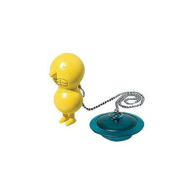 Dream Factory 1.75 Chain and Plug Tub Drain Finish: Yellow