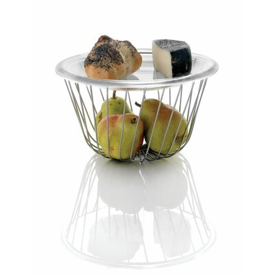 Image of Alessi Alessi A Tempo Wire Fruit Basket by Pauline Deltour (Set of 4) (AAS2866)
