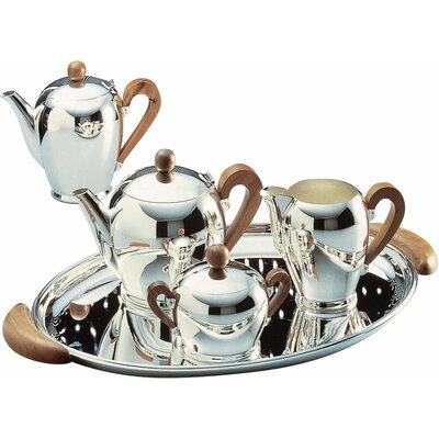 Bombe 4.25 Cup Coffee Server Finish: Silver