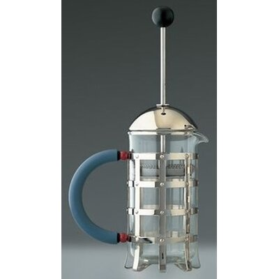 Michael Graves Press Filter Coffee Maker and Infuser Size: 3 cups