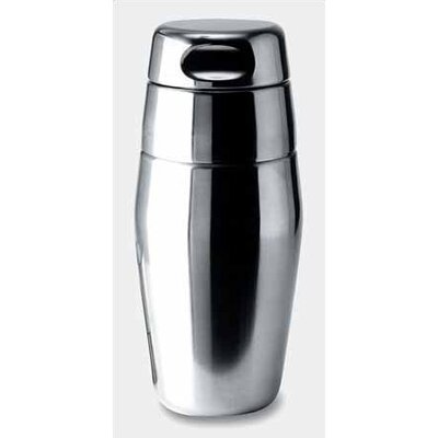 Luigi Massoni 17.5 oz. Silver Cocktail Shaker Finish: Matte