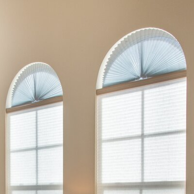 Sheer View Solar Fabric Arch Shade Color: White