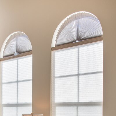 Sheer View Solar Fabric Arch Shade Color: Natural