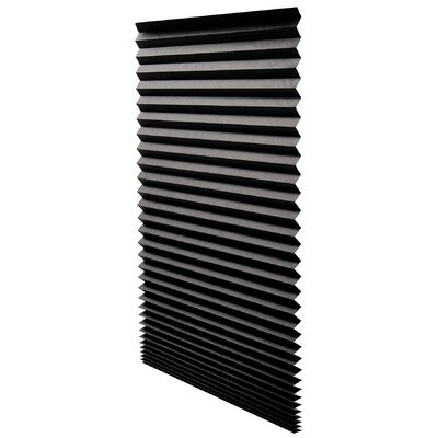 Window Pleated Shade Size: 48 W x 72 L