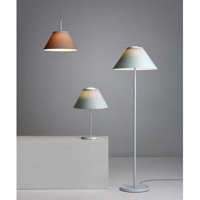 14.2 Empire Lamp Shade Finish: Green/Cochenille