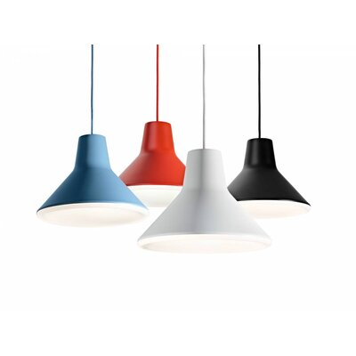 Tobiah Suspension Inverted Pendant Finish: White