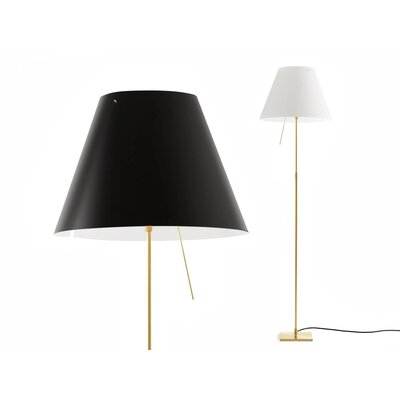 Costanza Radieuse 16 Empire Lamp Shade Finish: Liquorice Black