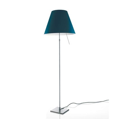 Costanza Radieuse 16 Empire Lamp Shade Finish: Blue