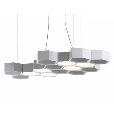 Heard 6-Light Geometric Pendant