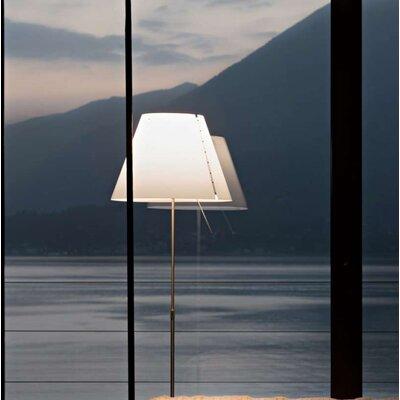 Costanza Radieuse 16 Empire Lamp Shade Finish: Red
