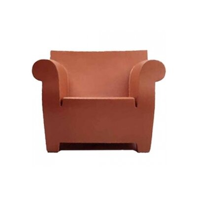 Bubble Club Armchair Finish: Siena Red