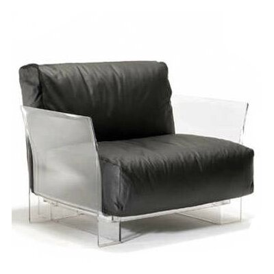 Pop Armchair Upholstery: Black