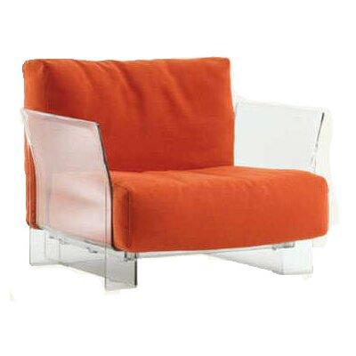 Pop Armchair Upholstery: Orange