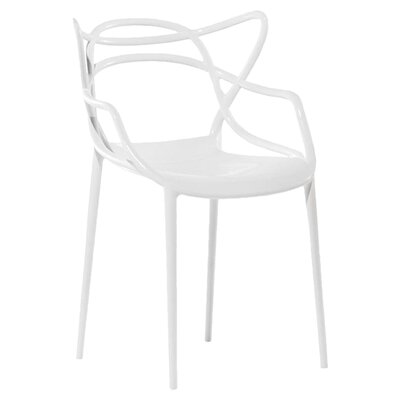 Masters Chair (Set of 2) Finish: White