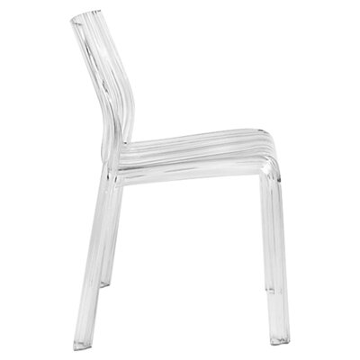 Frilly Chair (Set of 2) Finish: Transparent Crystal Clear