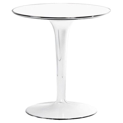 TipTop Side Table Color: Mat Glossy White
