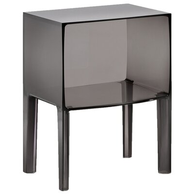 Ghost Nightstand Color: Transparent Fum�