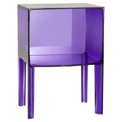 Ghost Nightstand Color: Transparent Violet