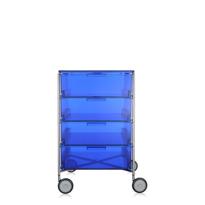 Mobil Storage Cabinet Color: Transparent Blue Product Picture 968