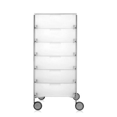 Mobil Storage Cabinet Color: Translucent Ice Product Picture 1384