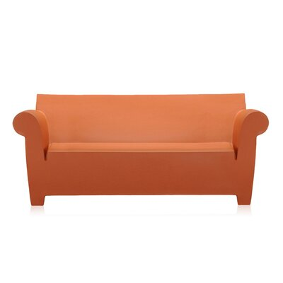 Bubble Club Sofa Upholstery: Siena Red