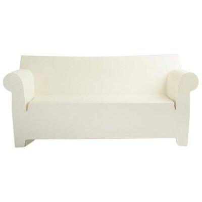 Bubble Club Sofa Upholstery: Zinc White
