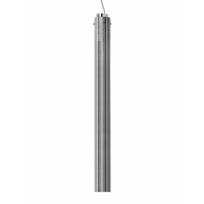 Rifly 1-Light Mini Pendant Size: 11.81 H x 3.15 W x 3.15 D, Finish: Chrome