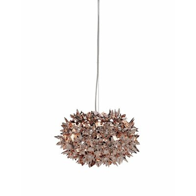 Bloom 1-Light Globe Pendant Size: 11 W x 11 D, Finish: Bronze