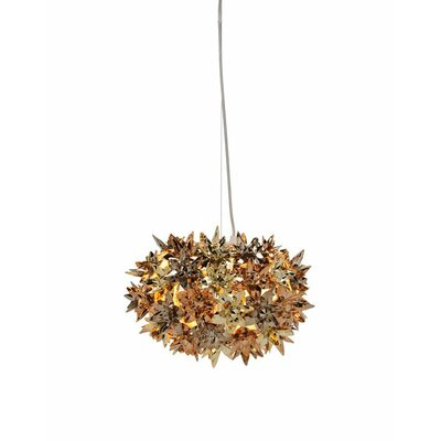 Bloom Suspension Lamp Finish: Gold/Bronze/Copper, Size: 11 W x 11 D