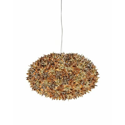 Bloom Suspension Lamp Finish: Gold/Bronze/Copper, Size: 20.87 W x 20.87 D