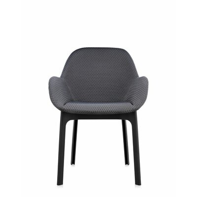 Clap Arm Chair Color: Graphite/Black