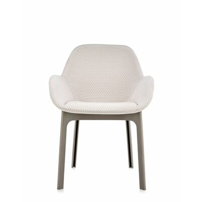 Clap Arm Chair Color: Beige/Dove