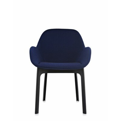 Clap Arm Chair Color: Blue/Black